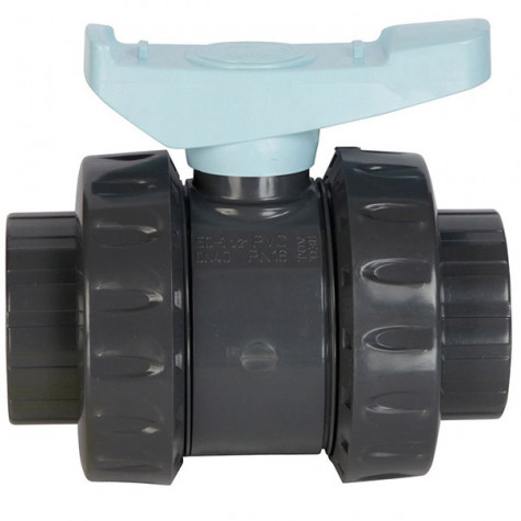 astore Vanne pvc astore double union à coller 50mm pn16 astore