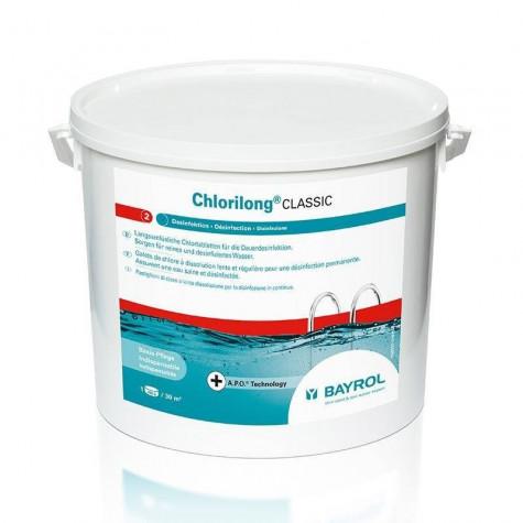 bayrol Chlore lent galet 250g 5kg bayrol