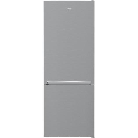 beko Réfrigérateur combiné 70cm 501l a++ nofrost silver beko