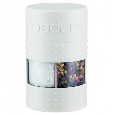 bodum Combi moulin à poivre et sel 11,3cm blanc bodum