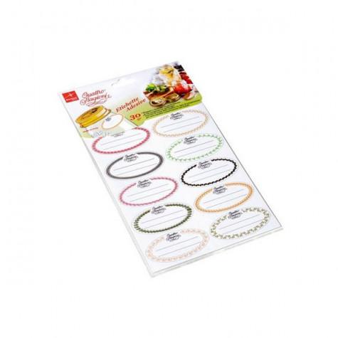 bormioli rocco 30 étiquettes adhésives bormioli rocco