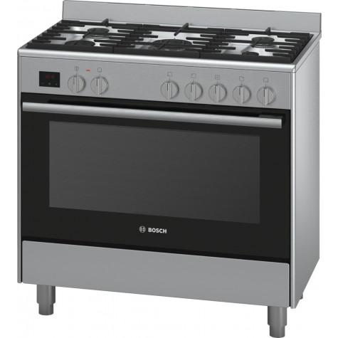 Bosch Cuisiniere Gaz 112l 5 Feux Inox Hsb736257e Vente Petit Electromenager Et Gros Electromenager