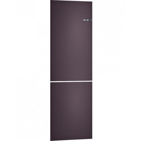 bosch Panneau de couleur aubergine perlé pour réfrigérateur/congélateur bosch