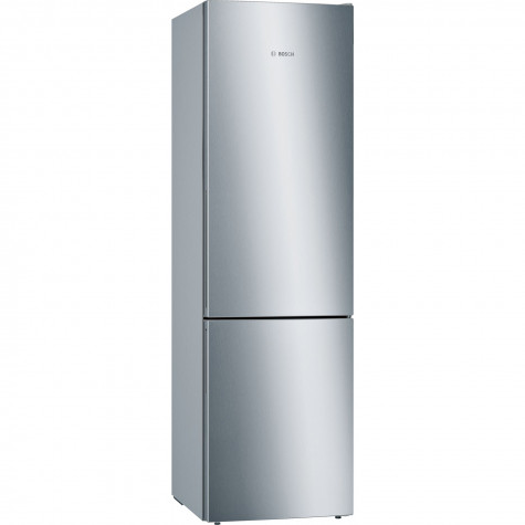 bosch Réfrigérateur combiné 60cm 337l a+++ brassé inox bosch