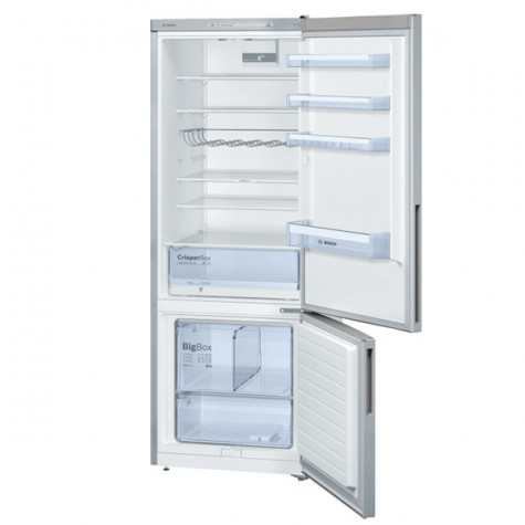 bosch Réfrigérateur combiné 70cm 505l a++ brassé silver bosch