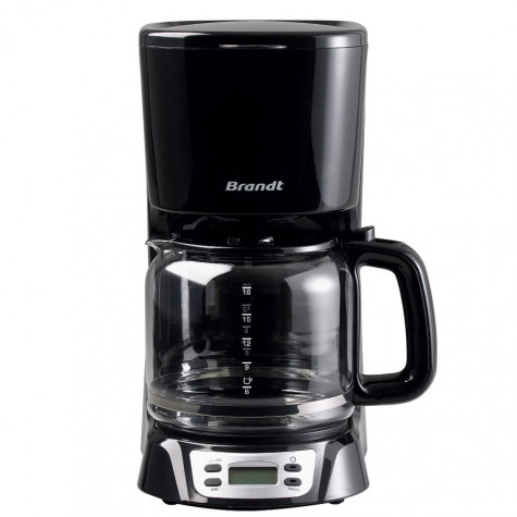 brandt Cafetière filtre programmable 18 tasses 1000w brandt