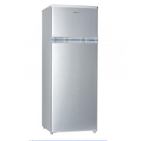 california Réfrigérateur 2 portes 55cm 207l a+ statique silver california