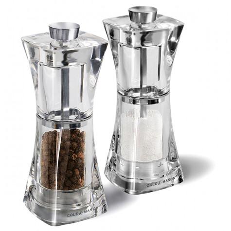 cole and mason Duo moulin à poivre + moulin à sel 12.5cm cole and mason