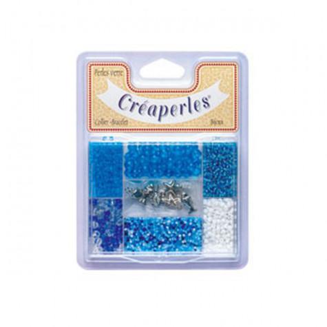 creaperles Kit de perles bleues creaperles