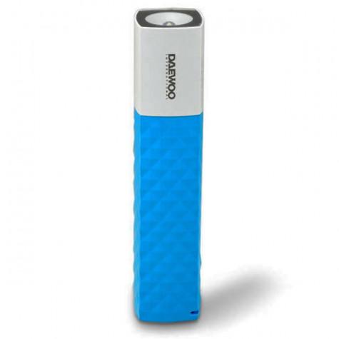 daewoo Batterie portable et lampe torche 2600mah bleu daewoo
