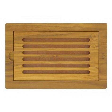 dm creation Planche à pain teck 37x24cm dm creation