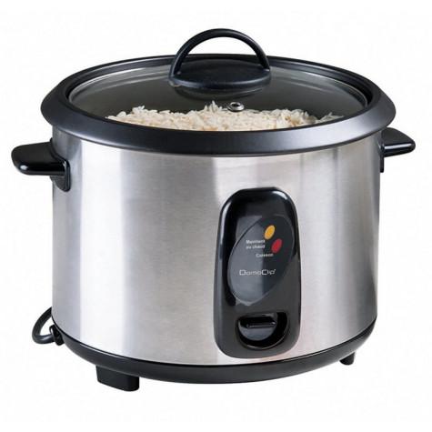domoclip Cuiseur à riz et  vapeur 1.8l 700w inox domoclip