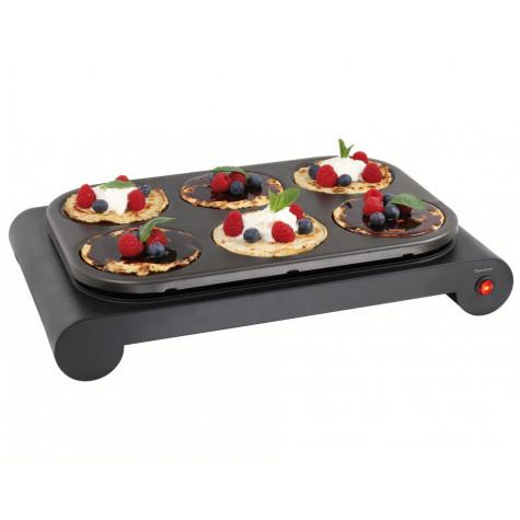domoclip Set mini woks, crêpière et gril 1000w noir domoclip