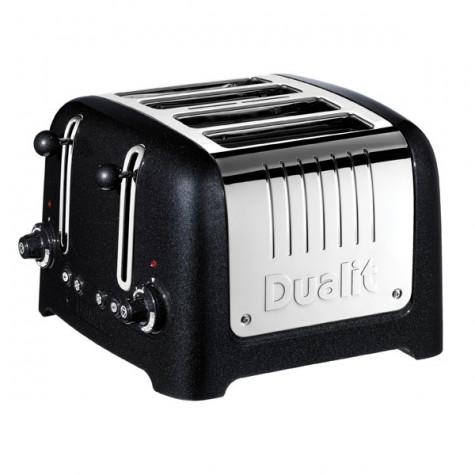 dualit Grille-pains 4 fentes 2200w noir dualit