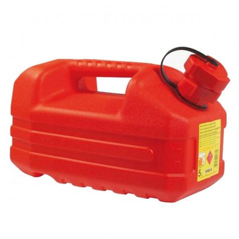 eda Jerrican hydrocarbure 5l avec bouchon verseur rouge eda