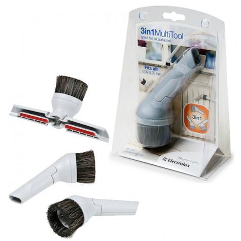 electrolux Brosse 3en1 32mm + 1 adaptateur 35 mm electrolux