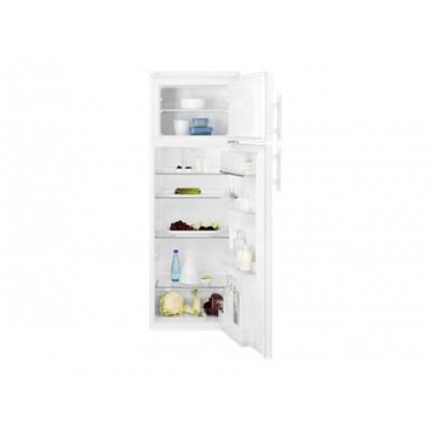 electrolux Réfrigérateur combiné 55cm 265l a+ brassé blanc electrolux