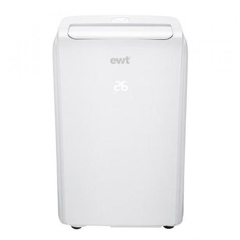 ewt Climatiseur mobile réversible 3200w 41m2 blanc ewt