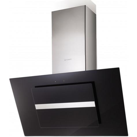 faber Hotte décorative inclinée 90cm 570m3/h verre/noir faber