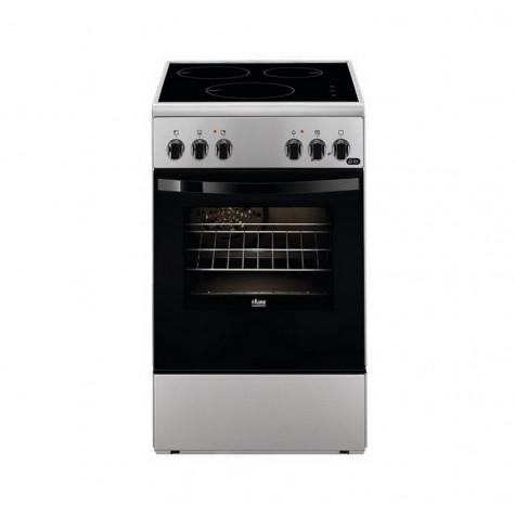 faure Cuisinière induction 54l 3 feux silver faure