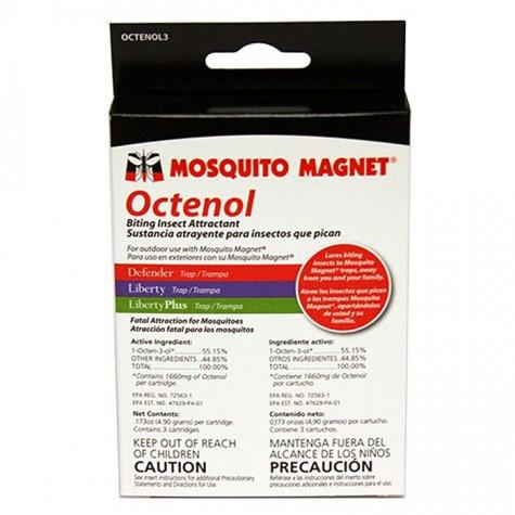 favex Lot de 3 recharges r-octenol pour mosquito magnet favex