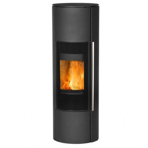 fireplace Poêle à bois 8.3kw acier noir fireplace