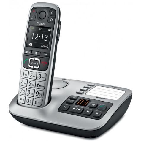 gigaset Téléphone sans fils dect noir/argent avec répondeur gigaset