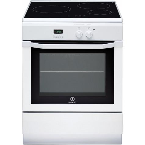 indesit Cuisinière induction 59l 3 feux blanc indesit