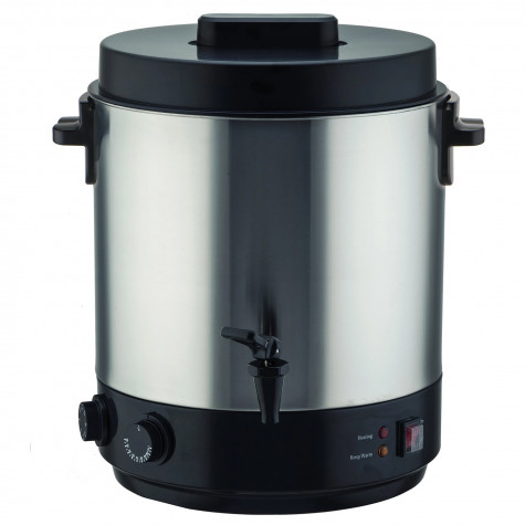 kitchen move Stérilisateur électrique avec robinet et minuteur 31l 2100w inox kitchen move