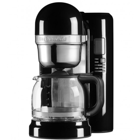 kitchenaid Cafetière à infusion avec fonctions simplifiées 12 tasses 1100w noir onyx kitchenaid
