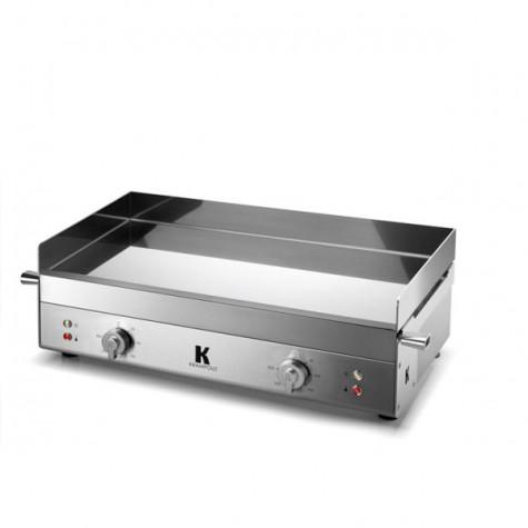 krampouz Plancha électrique inox 2x1800w 65x40cm krampouz