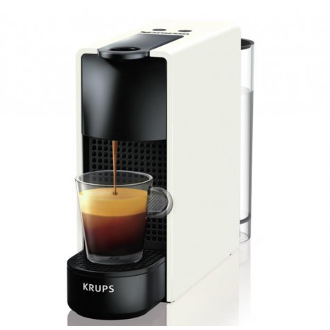 krups Cafetière nespresso automatique 19bars blanc krups