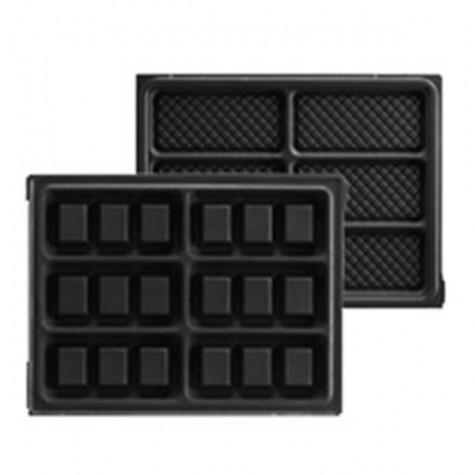 lagrange Plaques 6 mini gaufres pour tarti'gaufres lagrange