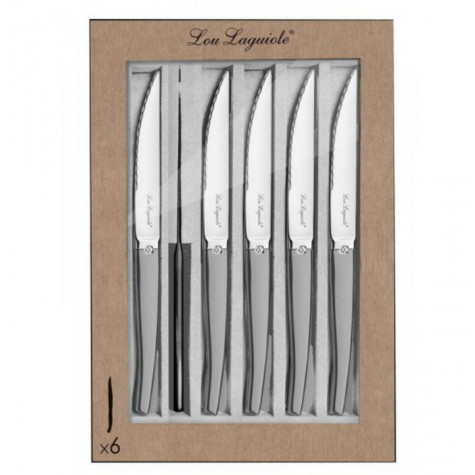 laguiole Coffret de 6 couteaux à steak laguiole