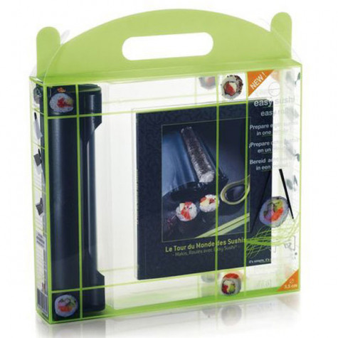 lansa design Coffret appareil à sushis et makis  3,5cm + livre lansa design