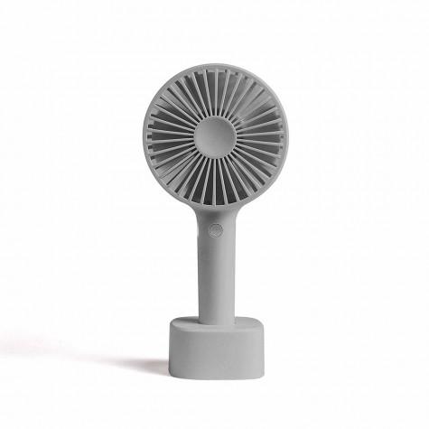 livoo Ventilateur à main 10cm 4w 3 vitesses gris livoo