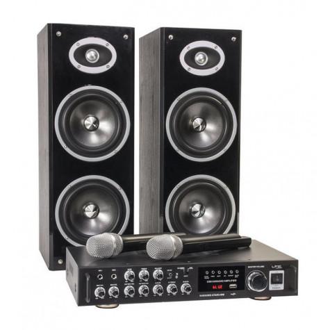 ltc audio Système de karaoké bluetooth + 2 micros vhf ltc audio