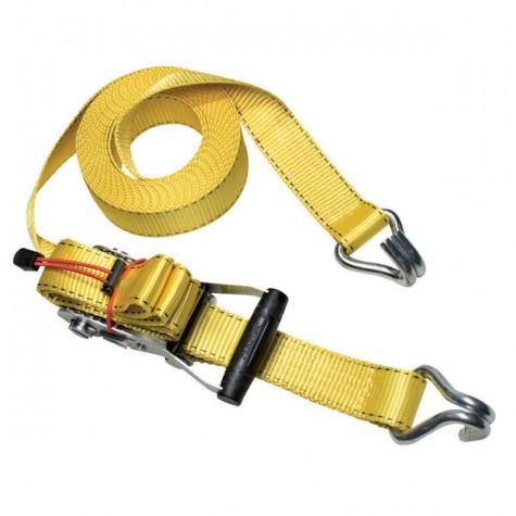 master lock Sangle à cliquet 4m50 35mm jaune master lock