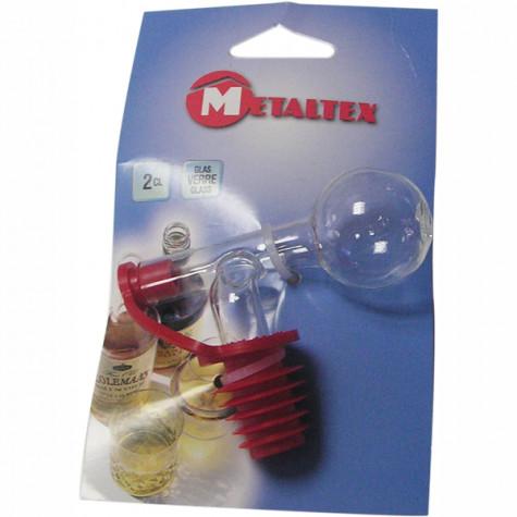 metaltex Bouchon doseur en verre 2cl metaltex