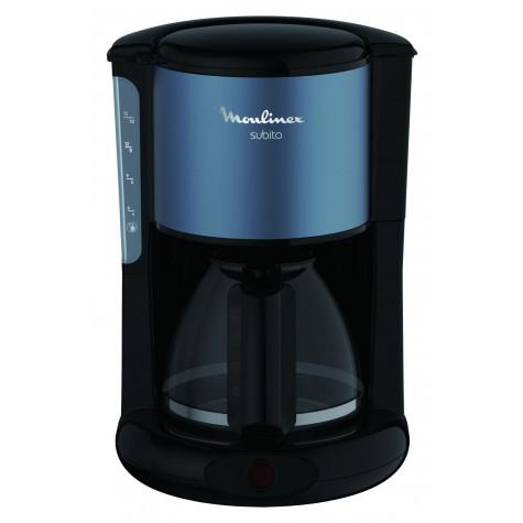 moulinex Cafetière filtre 15 tasses 1000w gris minéral moulinex