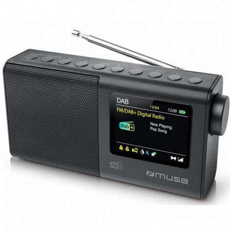 muse Radio portable numérique noir muse