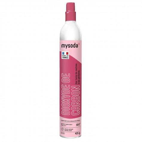mysoda Cylindre de recharge de gaz co2 60l pour machine à gazéifier mysoda