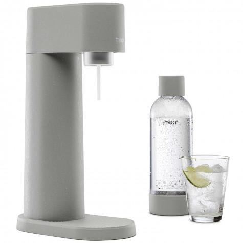 mysoda Machine à gazéifier l'eau + 1 bouteille mysoda