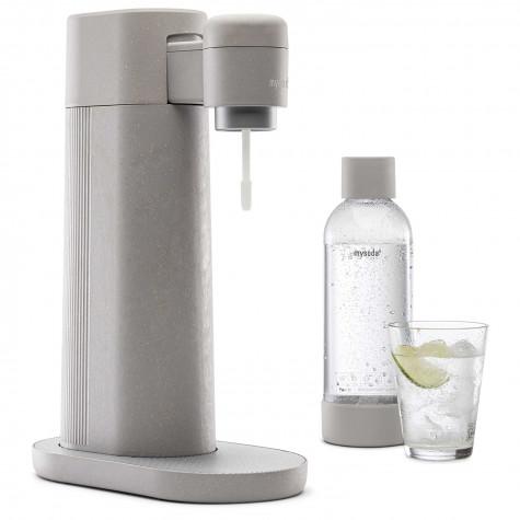 mysoda Machine à gazéifier l'eau + 2 bouteilles mysoda