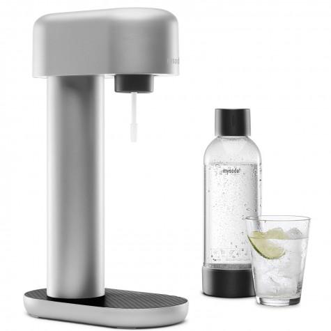 mysoda Machine à gazeifier l'eau + 2 bouteilles mysoda