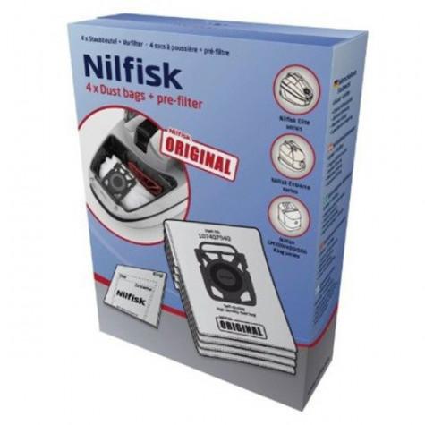 nilfisk Boite de 4 sacs hygiène + 3 pré-filtre nilfisk