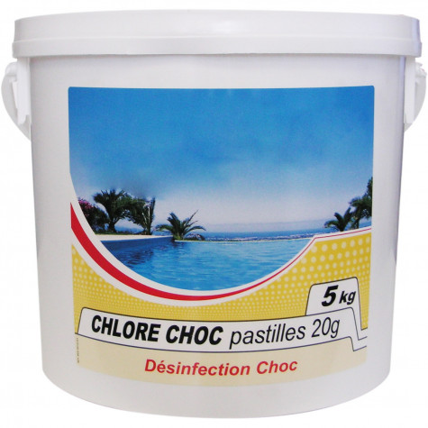 nmp Chlore choc pastille 5kg nmp