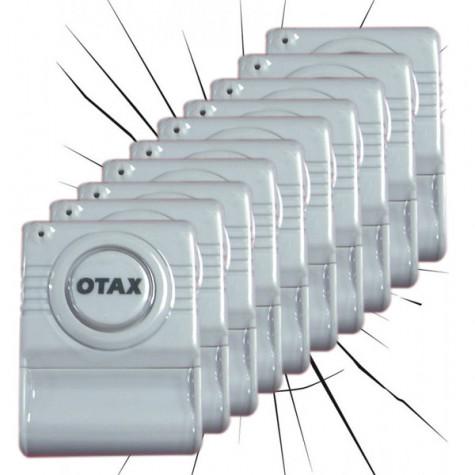 otax Lot de 10 alarmes bris de glace otax