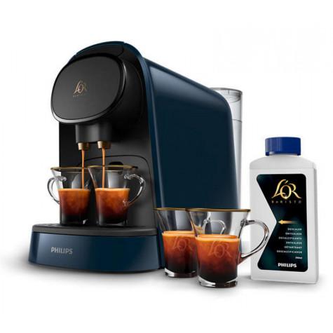 philips Machine à café à capsules 19bars bleu nuit philips