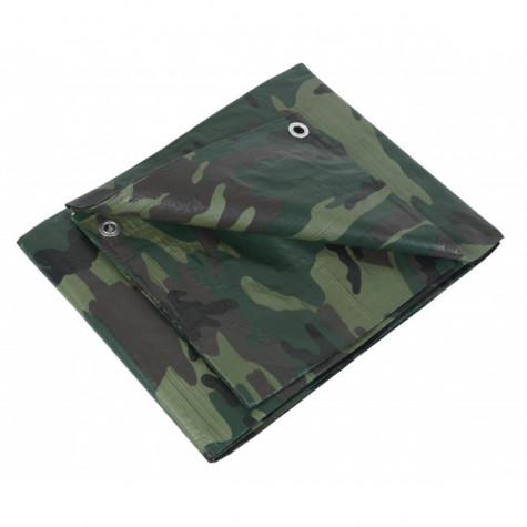 ribitech Bâche imperméable et imputrescible camouflage 1,8 x 3 m ribitech